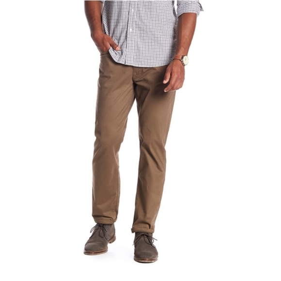 Lucky Brand 121 Slim Straight Bark Pant 36 x 34
